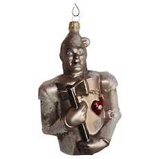 Christopher Radko Wizard of Oz Christmas Ornament Tin Man 1997