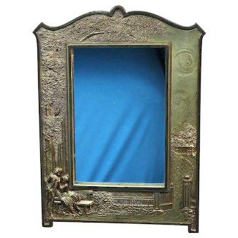 Antique Mirror Weidlich Bros