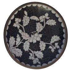 Vintage Chinese Cloisonne Trinket dish