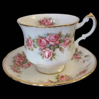 Vintage Paragon Tea Cup Elizabeth Rose