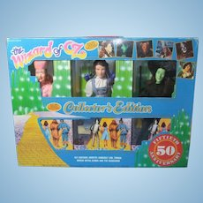 Wizard of OZ Dolls Collector's Edition of Six Dolls from 1988