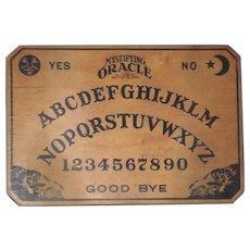 Ouija Board Wood by William Fuld Vintage