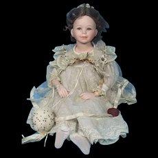 Mundia Porcelain and Cloth Doll