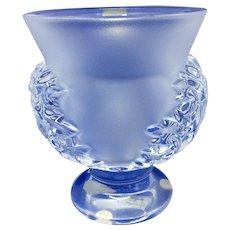 Lalique vase St Cloud