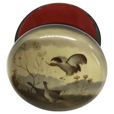 Russian Lacquer Box - Grouse
