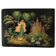 Russian Lacquered Box Fairy Tale