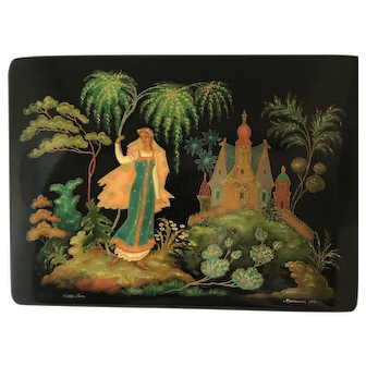 Russian Lacquered Box Fairy Tale