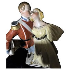 Antique Royal Copenhagen the Princess and the Soldier Figure