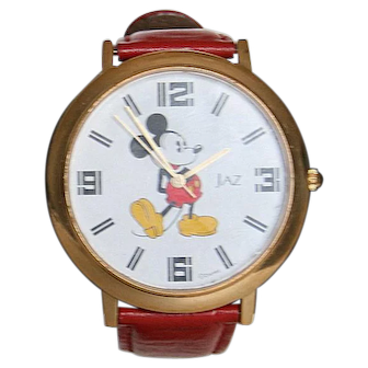 Vintage Collectible Disney Jaz Japan Mov't. Mickey Mouse Watch