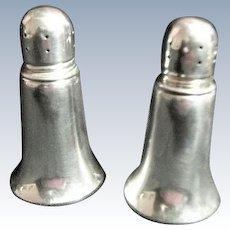 Vintage Alvin S21 Sterling Silver Weighted Salt & Pepper Shaker Set