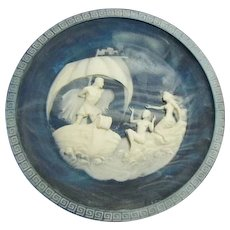 Vintage Incolay Cameo Stone- #2 The Voyage of Ulysses Series by Alan Brunettin- #2 The Sirens