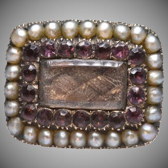 Mourning Brooch Conversion Ring