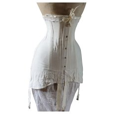 Antique Edwardian Corset