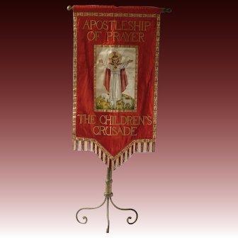 Religious banner, Christian, church banner,