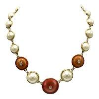 Vintage Guy Larouche Paris 1980s Necklace