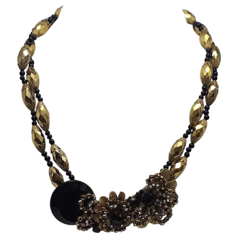 Wendy Gell Choker Necklace with Haskell Front