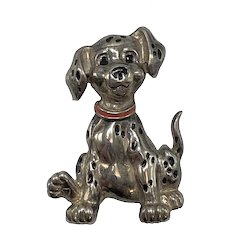 Disney Dalmatian Dog Pin with Moveable Head