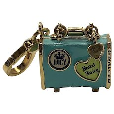 Juicy Couture Suitcase Charm