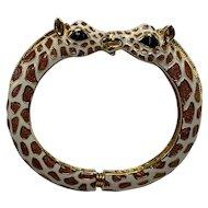 Kenneth J Lane Giraffe Hinge Bracelet