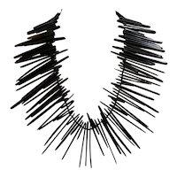 Gerda Lynggaard Signed Monies Spiky Black Ebony-Look Resin Necklace