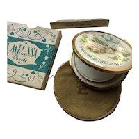 Souvenir of Ireland Compact by Melissa Vanity of England in Original Box