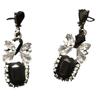 Art Deco-inspired Celluloid Post Earrings