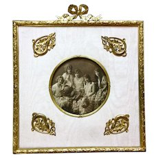 Very Large Antique Russian Picture frame, Original pictures.