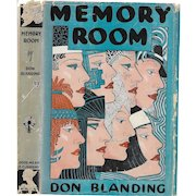 Memory Room. written, illustrated, and signed by Don Blanding 1943