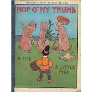 Hop O' My Thumb illustrated by John Hassall, 1923.