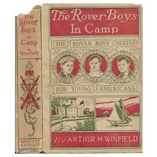 The Rover Boys in Camp by Arthur Winfield, 1904