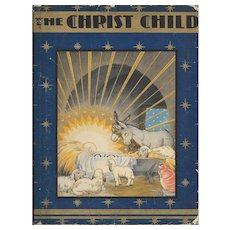 The Christ Child by Maud and Miska Petersham First edition 1931