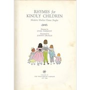 Rhymes for Kindly Children by Ethel Fairmont, 1937