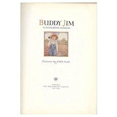 Buddy Jim by Elizabeth Gordon 1935