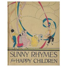 Sunny Rhymes for Happy Children by Olive Beaupre Miller, illustrated by Carmen Browne, 1917.