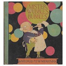 Mr. Wubble's Bubbles illustrated by Ve Elizabeth Cadie 1936.