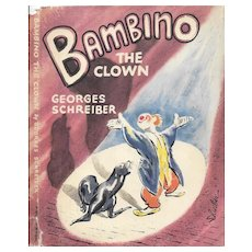 Bambino the Clown by Georges Schreiber 1947