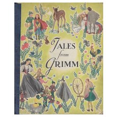 Tales From Grimm by Sarah K.Wright illustrated by Roberta Paflin 1945