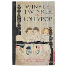Wynken Twinkle and Lollypop illustrated by Katharine Sturges Dodge 1918.