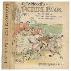 R. Caldecott's Picture Book No. 1 by Randolph Caldecott