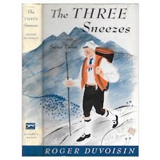 The Three Sneezes and Other Swiss Tales by Roger Duvoisin, 1963.
