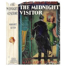 The Midnight Visitor:  A Judy Bolton Mystery by Margaret Sutton 1939.