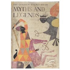 The Golden Treasury of Myths and Legends illustrated by Alice and Martin Provensen, 1959.