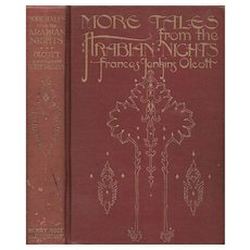 More Tales From the Arabian Nights, illustrated by Willy Pogany, first edition 1915.