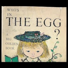 Who's in the Egg?  First edition 1970 by the Provensens