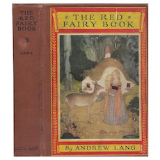 The Red Fairy Book illustrated by Gustaf Tenggren 1924