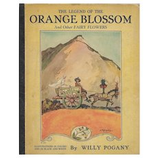 The Legend of the Orange Blossom illustrated by Willy Pogany, 1926.