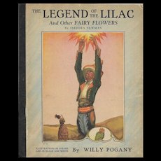 The Legend of the Lilac illustrated by Willy Pogany 1926