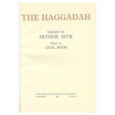 The Haggadah, presented by Arthur Szyk, 1960.