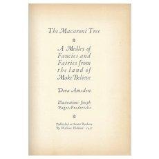 The Macaroni Tree SIGNED 1927