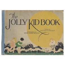 The Jolly Kid Book First Edition ca. 1926